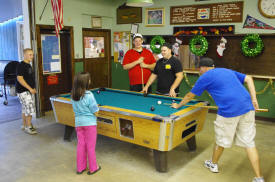 Facilities, Billiards in the recreation hall