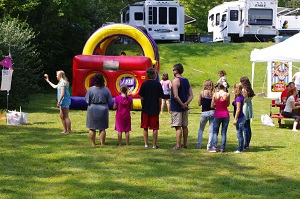 Carnival Games at Water's Edge Campground