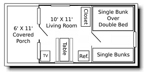 Rental 4 Layout