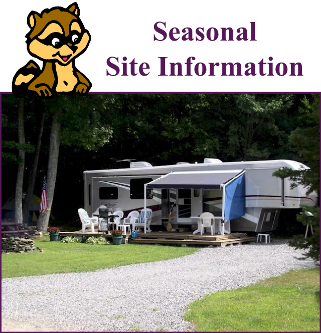 Seasonal Site Information