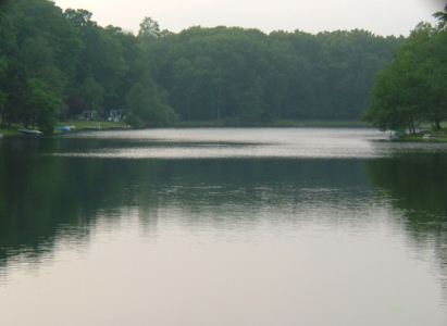 Tranquility, lakeside
